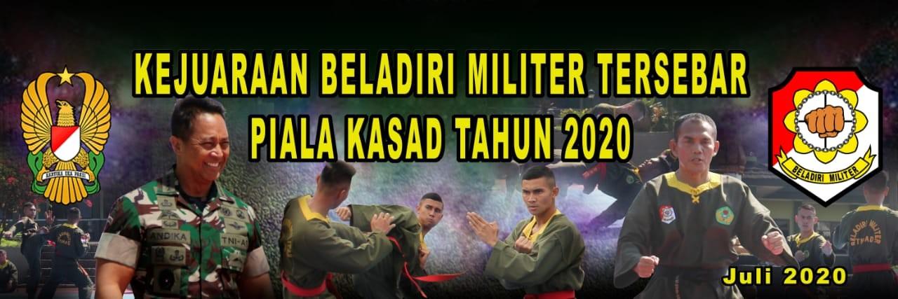 Prajurit TNI AD  akan mengikuti Kejuaraan Beladiri Militer Tersebar  Piala Kasad Tahun 2020